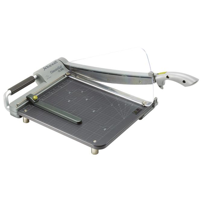 Rezač stolni za papir (giljotina) rez310mm 15 listova CL200 Rexel 2101972