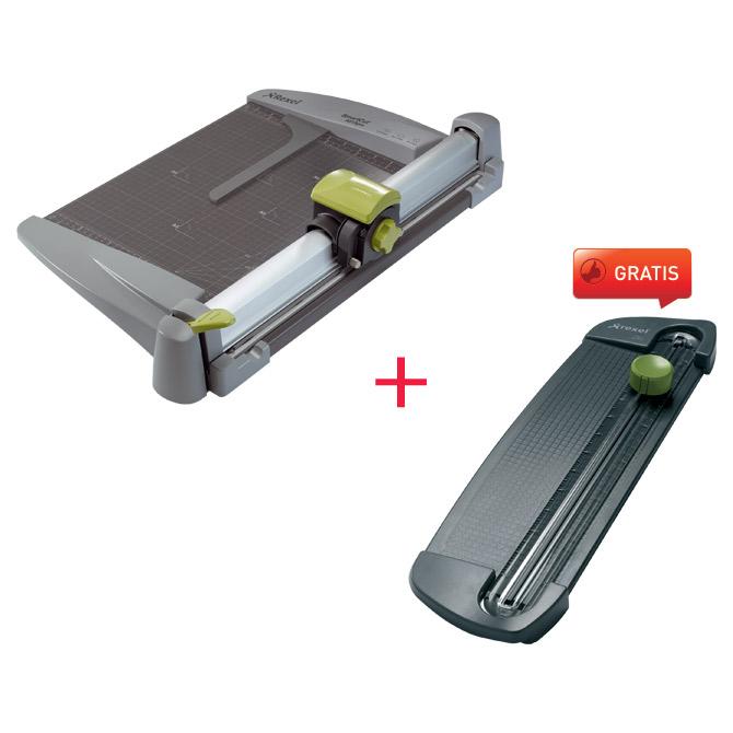 Rezač stolni za papir rez387mm 30L SmartCut A515 Rexel 2101967 + rezač A100 Rexel 2101961 GRATIS