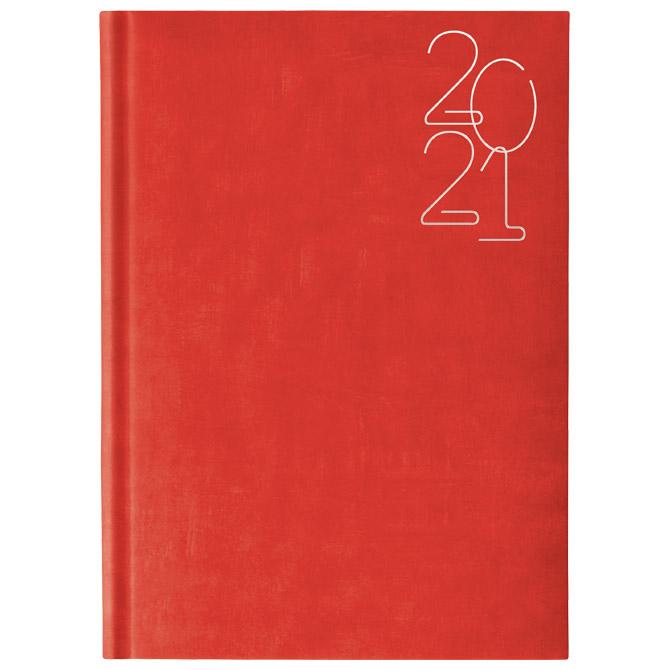 Rokovnik A4 Wall 361 crveni