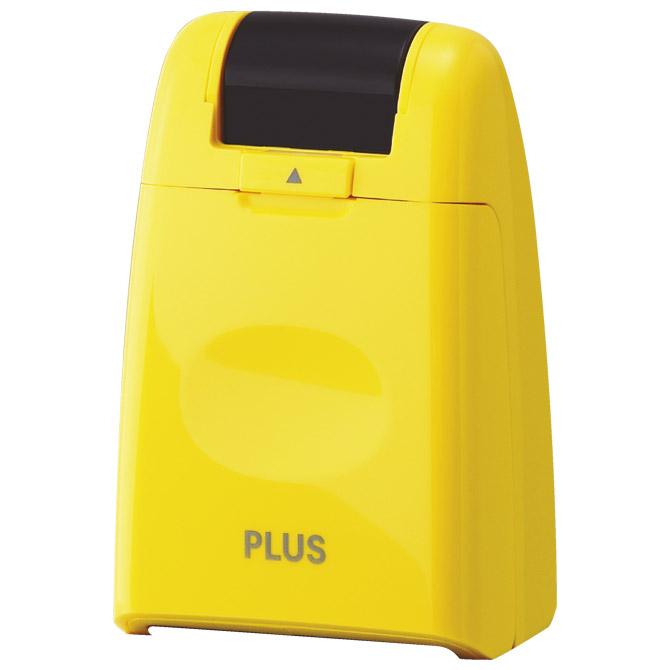 Roler-pečat za zaštitu teksta Plus.38-095 žuti blister