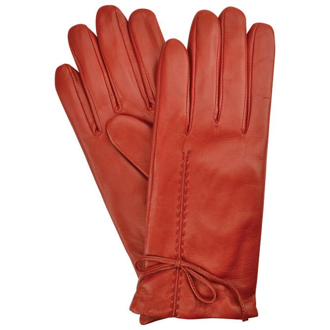 Rukavice kožne ženske Galko 71-0081-R03 crvene L