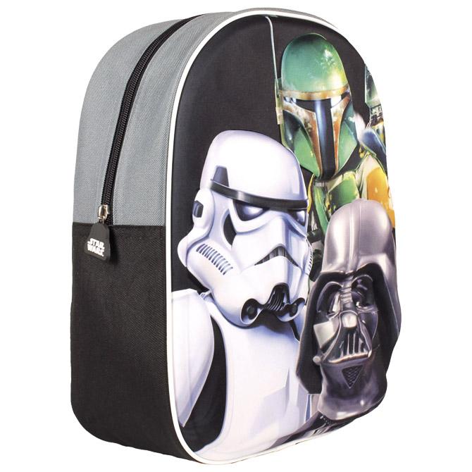 Ruksak vrtićki 3D Star Wars1 Cerda 2100001001!!