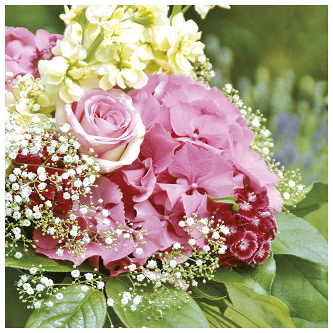 Salvete troslojne 33x33cm pk20 Magic Roses Herlitz 11166444!!