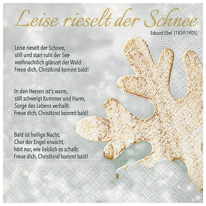 Salvete troslojne 33x33cm pk20 Winter song Herlitz 40030166!!