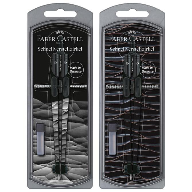Šestar s preciznim podešavanjem Boys Faber Castell 174451 sortirano blister