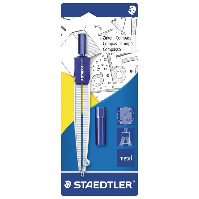 Šestar školski Staedtler 550 50 BK blister