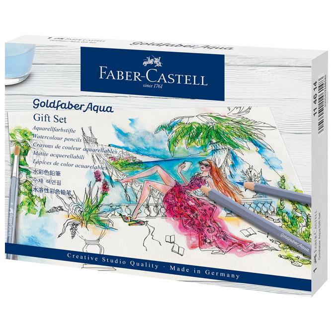 Set crtaći Goldfaber Aqua Faber Castell 114614