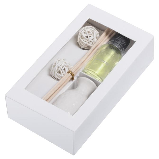Set za wellness u kartonskoj kutiji bijeli