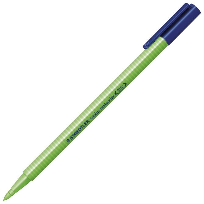 Signir 1-4mm neon Triplus Staedtler 362-5 zeleni