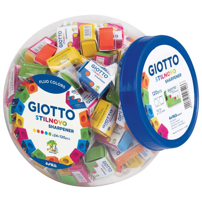 Šiljilo pvc 1rupa Stilnovo Giotto Fila 2329 sortirano fluorescentne boje