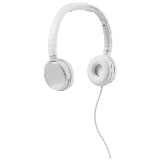 Slušalice zvučna izolacija bijele
