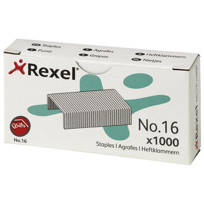 Spajalice strojne br.24/6 pk1000 No.16 Rexel 06121