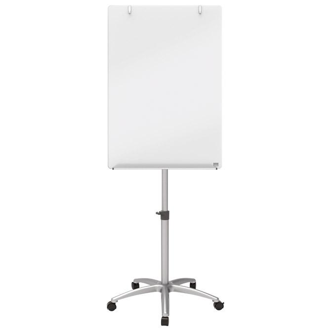 Stalak flipchart+bijela ploča pomični 70x100cm staklena Nobo 1903949!!