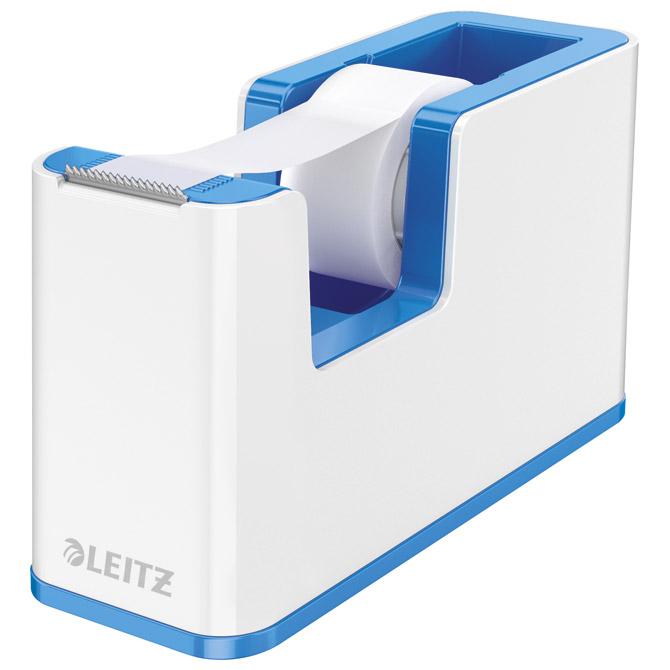 Stalak s trakom ljepljivom Wow Leitz 53641036 bijeli/plavi