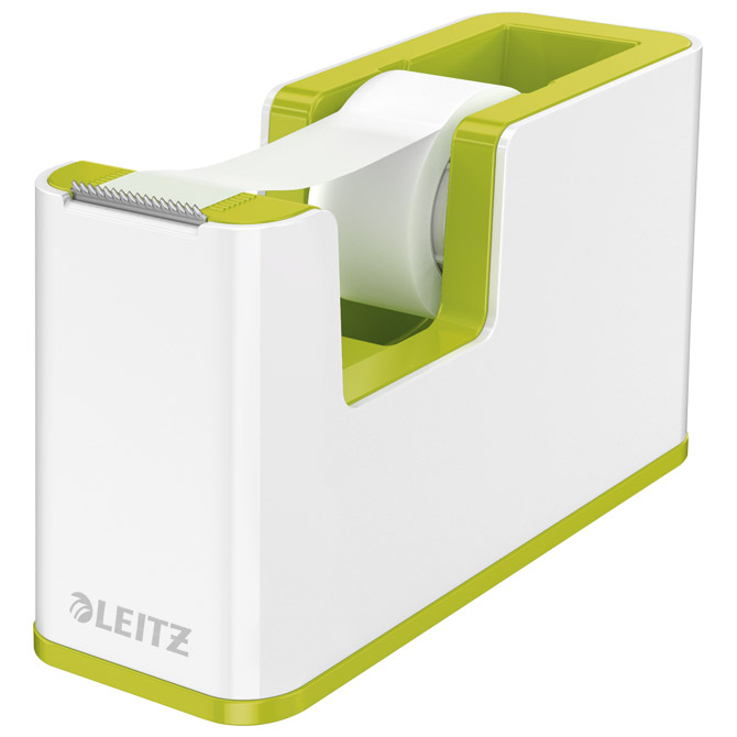 Stalak s trakom ljepljivom Wow Leitz 53641054 bijeli/zeleni