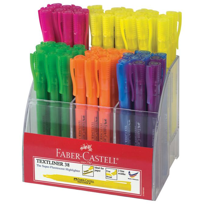 Stalak sa signirima slim 38 superfluorescent pk54 Faber Castell 158109