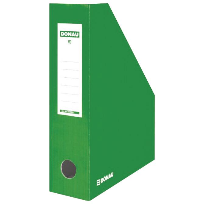Stalak za spise okomit kartonski lakirani Donau 7649201-06FSC zeleni