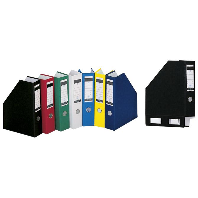 Stalak za spise okomit kartonski pp Donau 3949001PL-01 crni