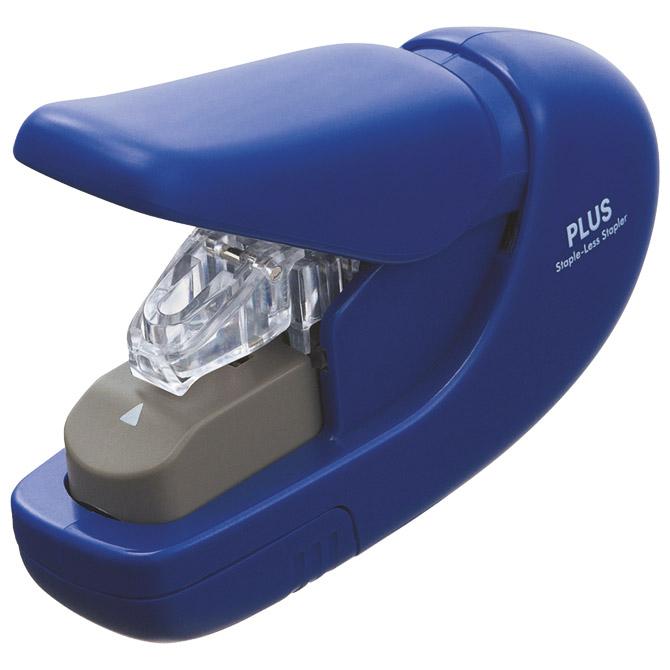 Stroj za spajanje do   5 listova mini bez spajalica Plus.31147 plavi blister