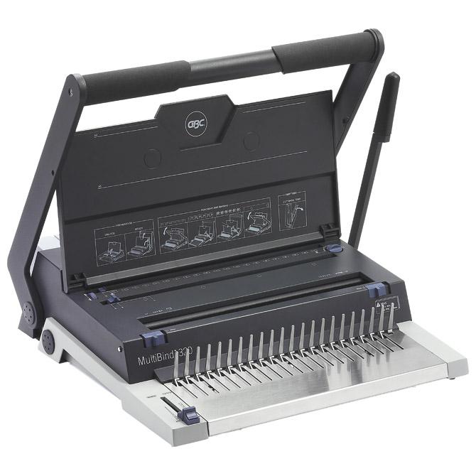 Stroj za spiralni uvez MultiBind 320 GBC IB271076!!
