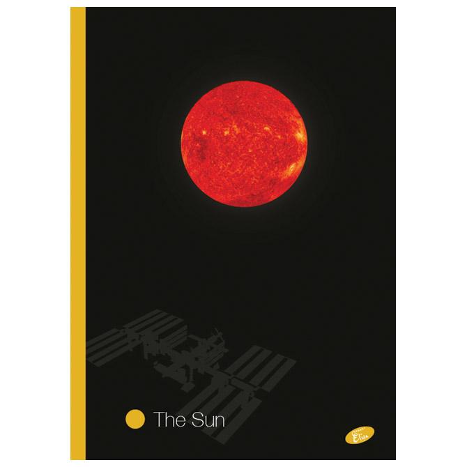 Teka meki uvez A4 crte 40+2L 80g Planets Elisa