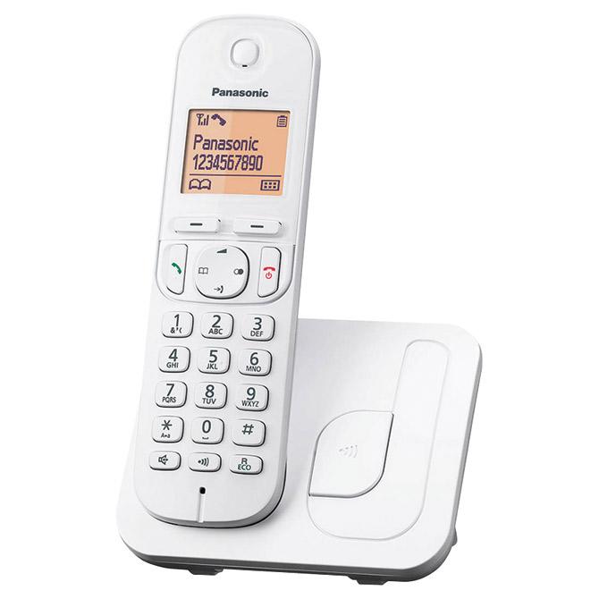 Telefon bežični Panasonic KX-TGC 210FXW bijeli