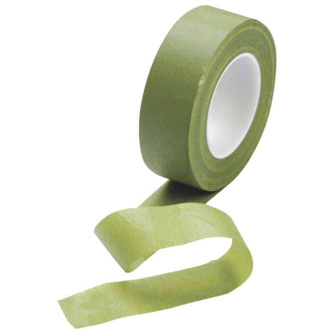 Traka ljepljiva krep 24mm/27m cvjećarska Knorr Prandell 21-2412489 maslinasto zelena blister