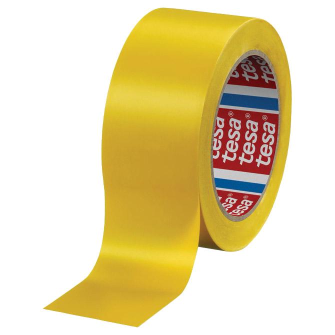 Traka za označavanje ljepljiva 50mm/33m pvc Tesa 60760-95 žuta