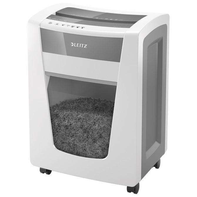 Uništavač dokumentacije  15 listova MicroCut IQ Pro Leitz 80050000 bijelo/sivi