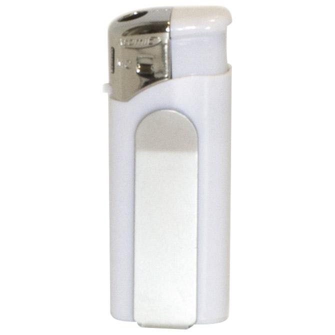 Upaljač elektronski Atomic Mini Clip bijeli!!