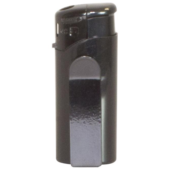 Upaljač elektronski Atomic Mini Clip crni!!