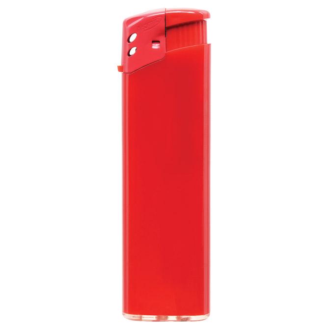 Upaljač elektronski sjajni Atomic Favorit crveni