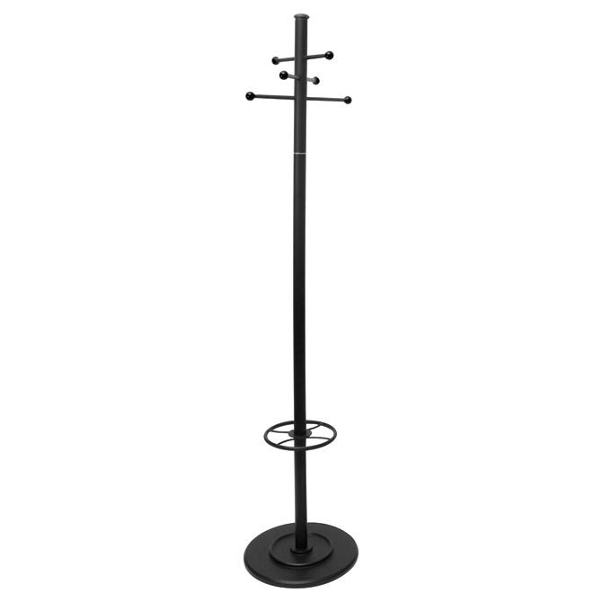 Vješalica stojeća metalna Oblikovina 2011 crna