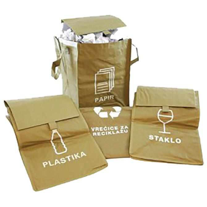 Vreća eko za razvrstavanje smeća 35x51