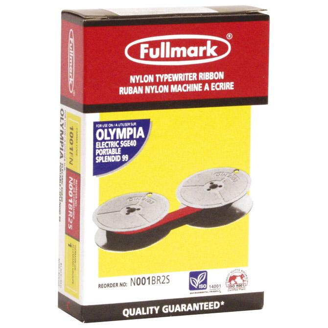 Vrpca pisaća 13mm grupa 1 nylon Fullmark crveno-crna