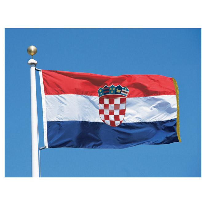 Zastava RH 150x300-sa resicama (svečana)