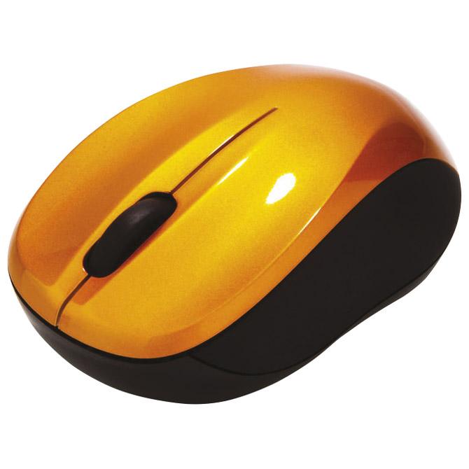 Miš usb 3tipke laserski bežični nano Verbatim 49045 narančasti blister
