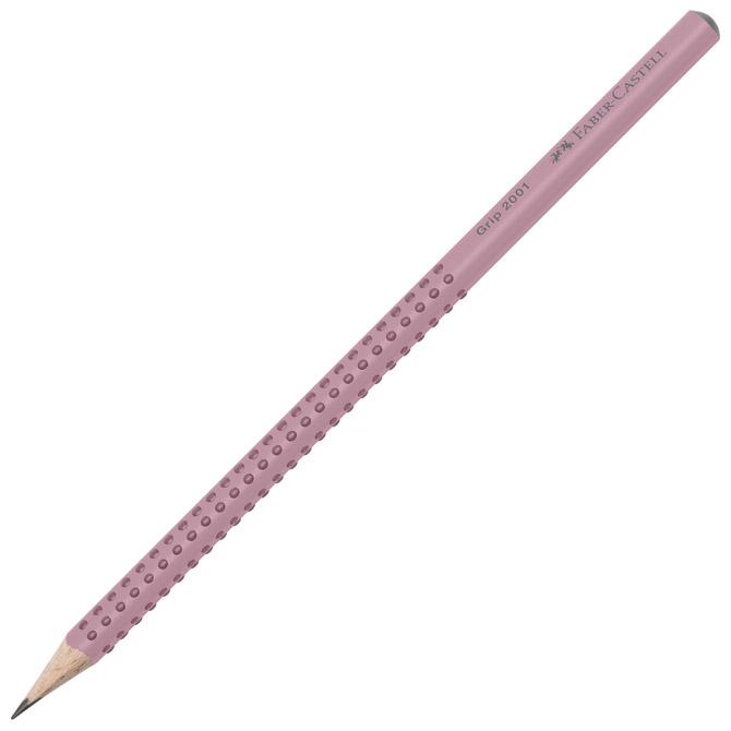Olovka grafitna B Grip 2001 Faber-Castell 517054 roza