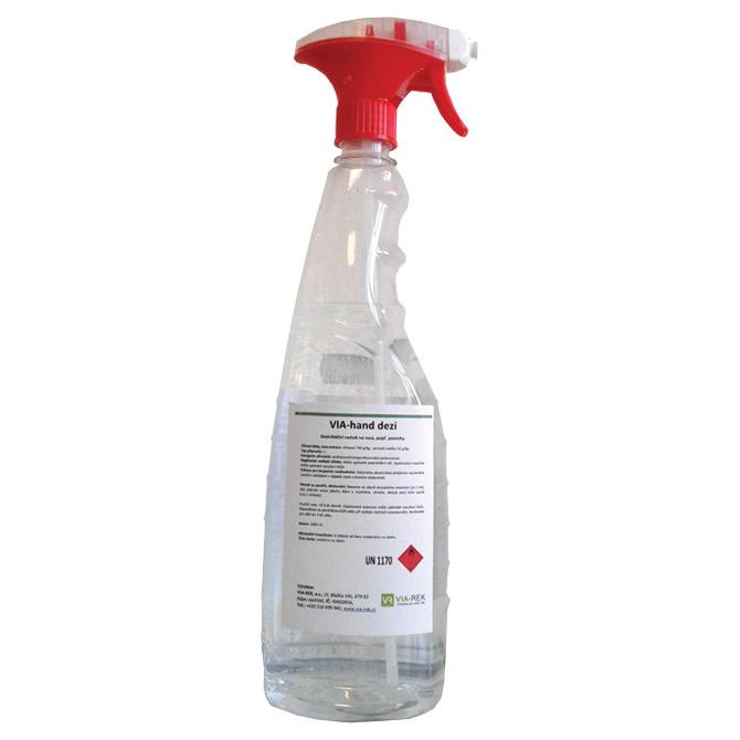 Sredstvo - VIA-hand dezi - za dezinfekciju ruku i površina 1L sa prskalicom