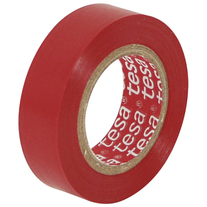 Traka izolir 15mm/10m Tesa 53988-00025 crvena