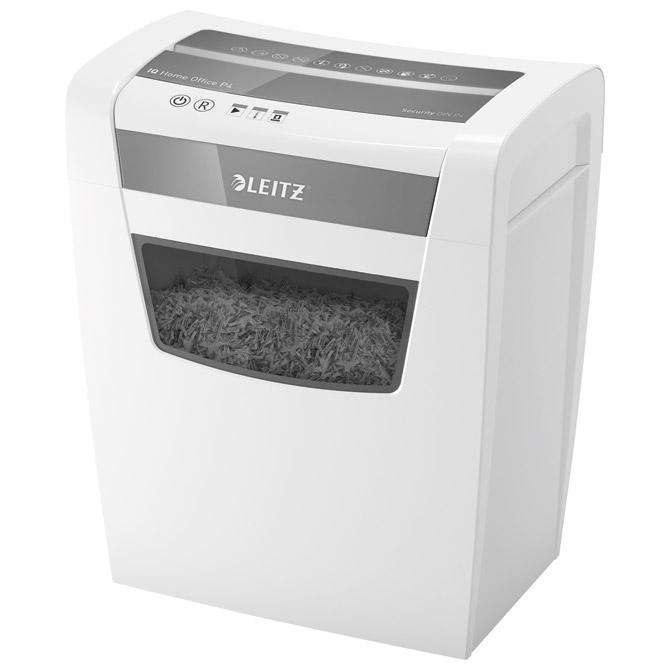 Uništavač dokumentacije  10 listova  IQ Home Leitz 80090000 bijelo/sivi