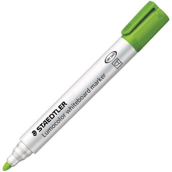 Marker za bijelu ploču 2mm Lumocolor Staedtler 351-53 svijetlo zeleni