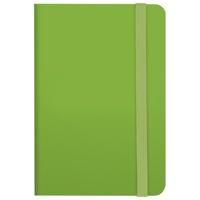 Notes A6 karo 96L 80g s gumicom Color Code Brunnen 10-55656 52 zeleni!!