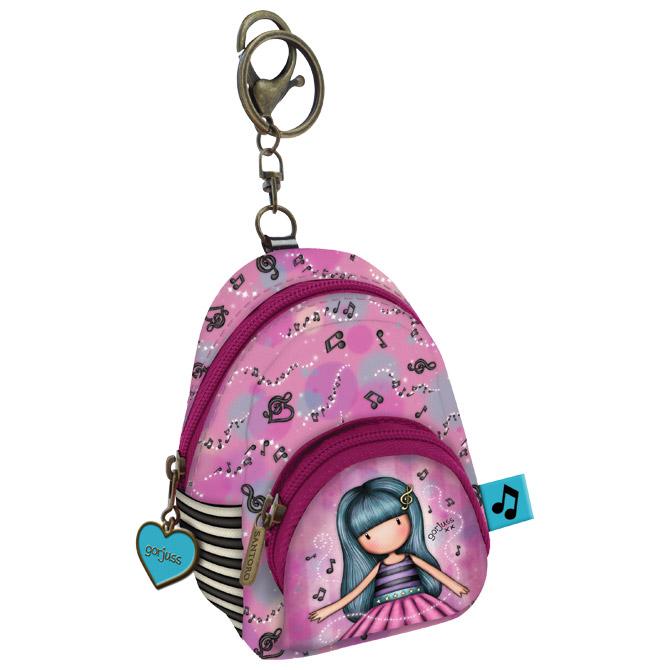 Privjesak za ključeve ruksak 2zipa Dancing Among the Stars Gorjuss 929GJ05 blister