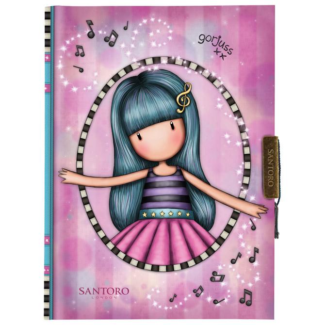 Teka tvrdi uvez s ključem Dancing Among the Stars Gorjuss 577GJ19
