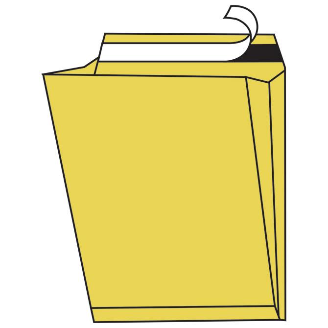 Kuverte - vrećice B4 strip proširene bočno havana pk250 Blasetti