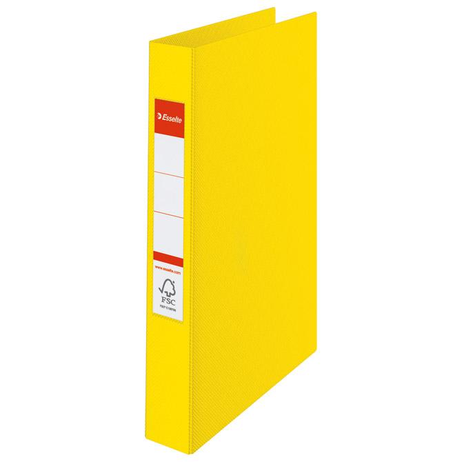Mapa uložna 2ringa-fi25mm/hrbat-35mm A4 Vivida Esselte 14450 žuta