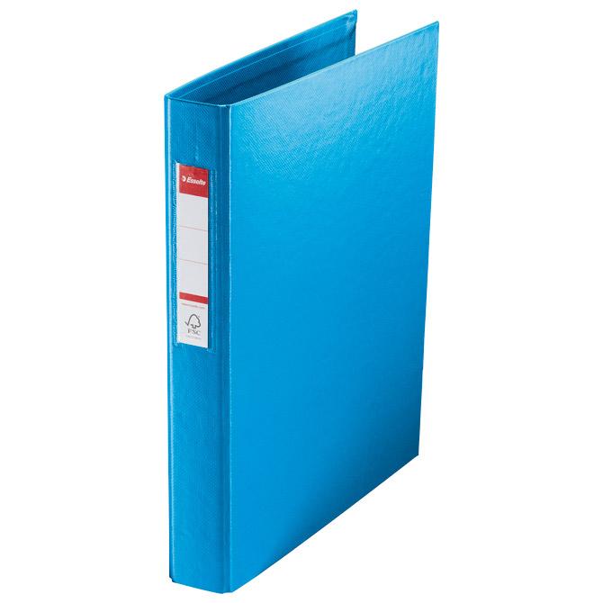 Mapa uložna 4ringa-fi25mm/hrbat-35mm A4 Vivida Esselte 14460 plava