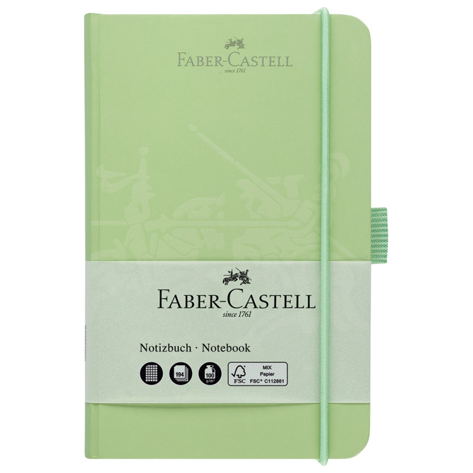 Notes  9x14cm karo 96L 100g s gumicom Faber Castell 100 205 03 mint!!