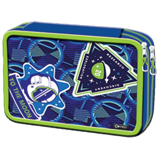 Pernica puna 2zipa Space Connect plavo-zelena